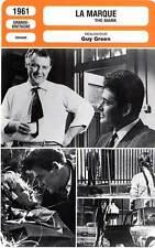 FICHE CINEMA : LA MARQUE - Schell,Whitman,Steiger,Green 1961 The Mark