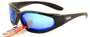New Shatterproof /Unbreakable G-Tech Motorcycle Sunglasses/Biker Glasses + Pouch