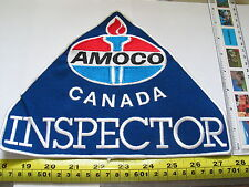 1980's Amoco Canada Inspector Patch Badge , Vintage Patch, (5006) Ex-Large*(**)