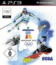 SONY PS3 Vancouver 2010 PlayStation 3 Winter Spiele Olympia Ski Snowboard Bob