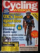 CYCLING WEEKLY - SKY'S MASS RIDE SERIES - JUNE 25 2009