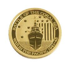 2014 - 1/10oz Gold Australian Coral Sea .9999 BU