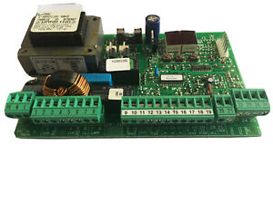 USED-FAAC 455D 115V 60HZ Control BOARD ONLY.