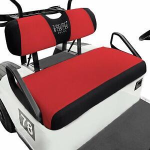 10L0L Golf Cart Seat Cover Set for EZGO TXT RXV Club Car DS Golf Washable Mesh S