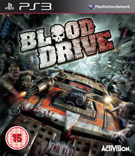 BLOOD DRIVE ~ PS3 (in Good Condition)