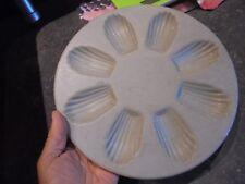 Ancien Moule de Patissier Rond en Aluminium pour 8 Madeleine s Micro-Onde (n°1)