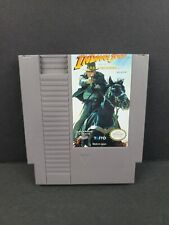 Indiana Jones and the Last Crusade Taito Nintendo Nes 1991 Authentic Game Tested