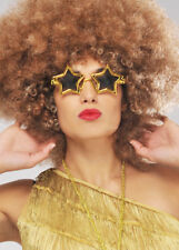 16b9d23689d Elton John Rocket Gold Star Fancy Dress Specs Glasses Sunglasses 1970s