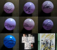 hand signed WayV 威神V autographed ball concert ball photo 7cm limited 92019