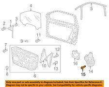 VW VOLKSWAGEN OEM 12-18 Beetle Door-Window Motor Bolt 8Z0837691C