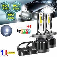 110W H4 Mini LED COB Voiture Phare Lampe Feu Headlight Ampoule 6000K 20000LM 2PC