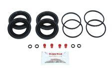 VW Camper Posterior Bay Frente L&R Pinza de Freno Reparar Kit + Vaciado Juntas (