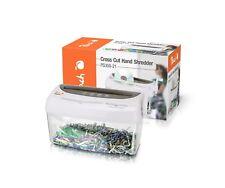 Peach PS300-21 Partikelschnitt Aktenvernichter | 1 Blatt | 4 Liter | 3.5 x 4 mm