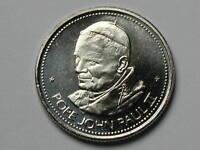 Alberta Papal Visit Pope John Paul II CANADA 1984 Commemorative Medal BU UNC GEM