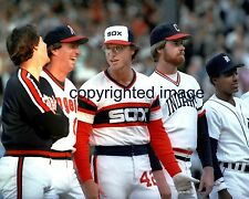 Ron Kittle 83 All Star Game  White Sox Comiskey Park  Color  8x10 E