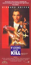 IF LOOKS COULD KILL TEEN AGENT Original Daybill Movie Poster Richard Grieco 1991