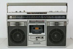 Panasonic Platinum RX-5280 Vintage Cassette Boombox. Warranty Refurbished. Video