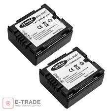 2pcs Battery for Panasonic CGA-DU07 DU06 NV-GS17 SDR-H250 SDR-H20 Camcorder