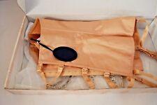 ORO Satin Basco con cinghie e diamante misura 18 con etichette + Cinturino le confezioni