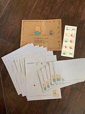 New Zashikibuta Pig Stationary Set envelopes stickers Hello Kitty Sanrio
