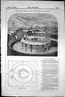 Old Banbury Swimming Private Baths Ground Plan Architecture 1855 Buil Victorian