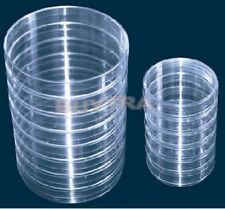 Firm Much 10x Sterile Plastic Petri Dishes For Lb Plate Bacteria 55x15mm Th3