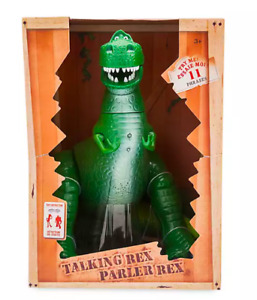 Disney Store original, REX Interactive Talking Action Figure - 30 cm tyrannosaur