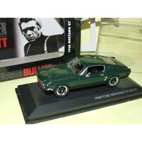 FORD MUSTANG GT 1968 Steve McQUEEN BULLITT YATMING 1:43