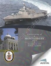 USS Montgomery (LCS 8) - US Navy Christening Program - 2014