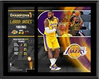 "LeBron James Los Angeles Lakers 12"" x 15"" 2020 NBA Finals Champion Player Plaque"