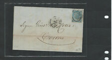 ITALY-CLASSIC OLDER-COVER-FOLDED ENVELOPE-1866--TO TORINO-#1022