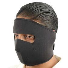 Sports Motorcycle Biker Neoprene Face Cold Weather Ski Mask Stealth Black