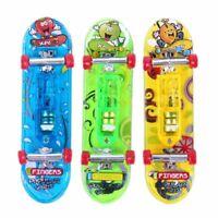 2 x Mini juguete de monopatin de dedo de escritorio regalo para muchachos n S2I9