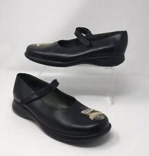 MONTIEL COMOPEDS Black Ballet Mary Jane Scooter Embroidered Shoes EU 40 Uk 6.5