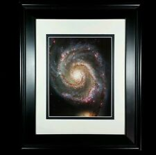 Hubble Telescope: Galaxy Space Universe Poster Photo Print (Matted & Framed NEW)