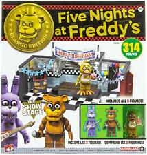 Five Nights At Freddy's SHOWSTAGE Classic Series Large Construction Set (NEW)