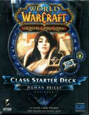 New Sealed Class Starter Deck Human Priest Alliance World of Warcraft WoW TCG