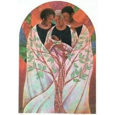 """African American Black Art Print """"FAMILY TREE"""" by Keith Mallett"""
