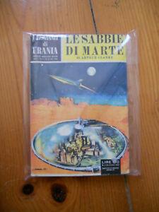 Arthur C CLARKE Le sabbie di Marte Urania n 1 Anastatica Mondadori Rist 10/1982