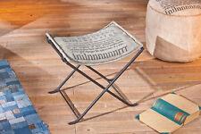 Hocker Sitzhocker beige/ grau/ schwarz Woody 148-00212