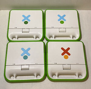 OLPC XO-1 One Laptop Per Child Lot Of 4 For Parts/Repair