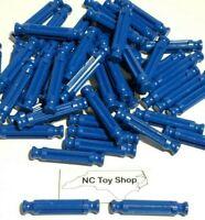 "100 KNEX Rare Blue Rods 1-5/16"" Bulk Standard Replacement Parts Pieces K'NEX"
