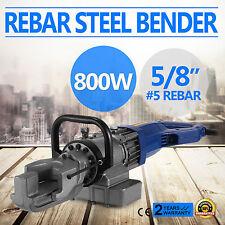 Electric Portable Steel Rebar Bender16mm ( 5/8'') Bending Pipe Steel Adjustable