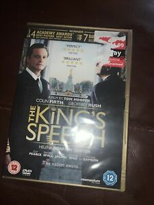 The Kings Speech DVD (Professionally Reconditioned and Sealed)