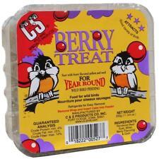 C&S Berry Treat suet wild bird feed lot of 4