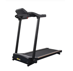 Mini Mute Treadmill With Handrail Electric Folding Running Machine Home Foldable