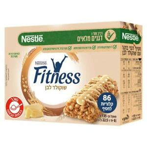 Fitness Cereals Bar with White Chocolate  Kosher Dairy Product 135g - 6 units