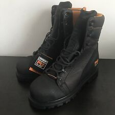 "Timberland PRO 8"" Rigmaster Steel Safety Toe Waterproof Work Boots Size 6W"