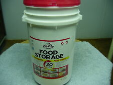 AUGASON FARMS 30 Day Emergency Food Supply LARGER Survival Bucket 307 Servings