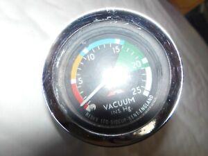 VINTAGE CLASSIC REDEX VACUUM GAUGE